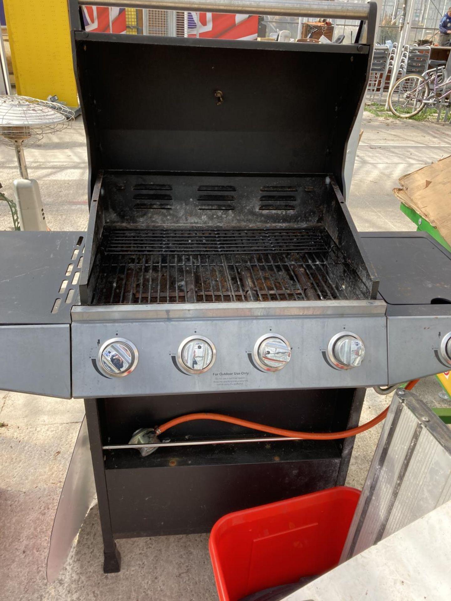A GAS BBQ, LIGHTBOARD ETC NO VAT - Image 2 of 2