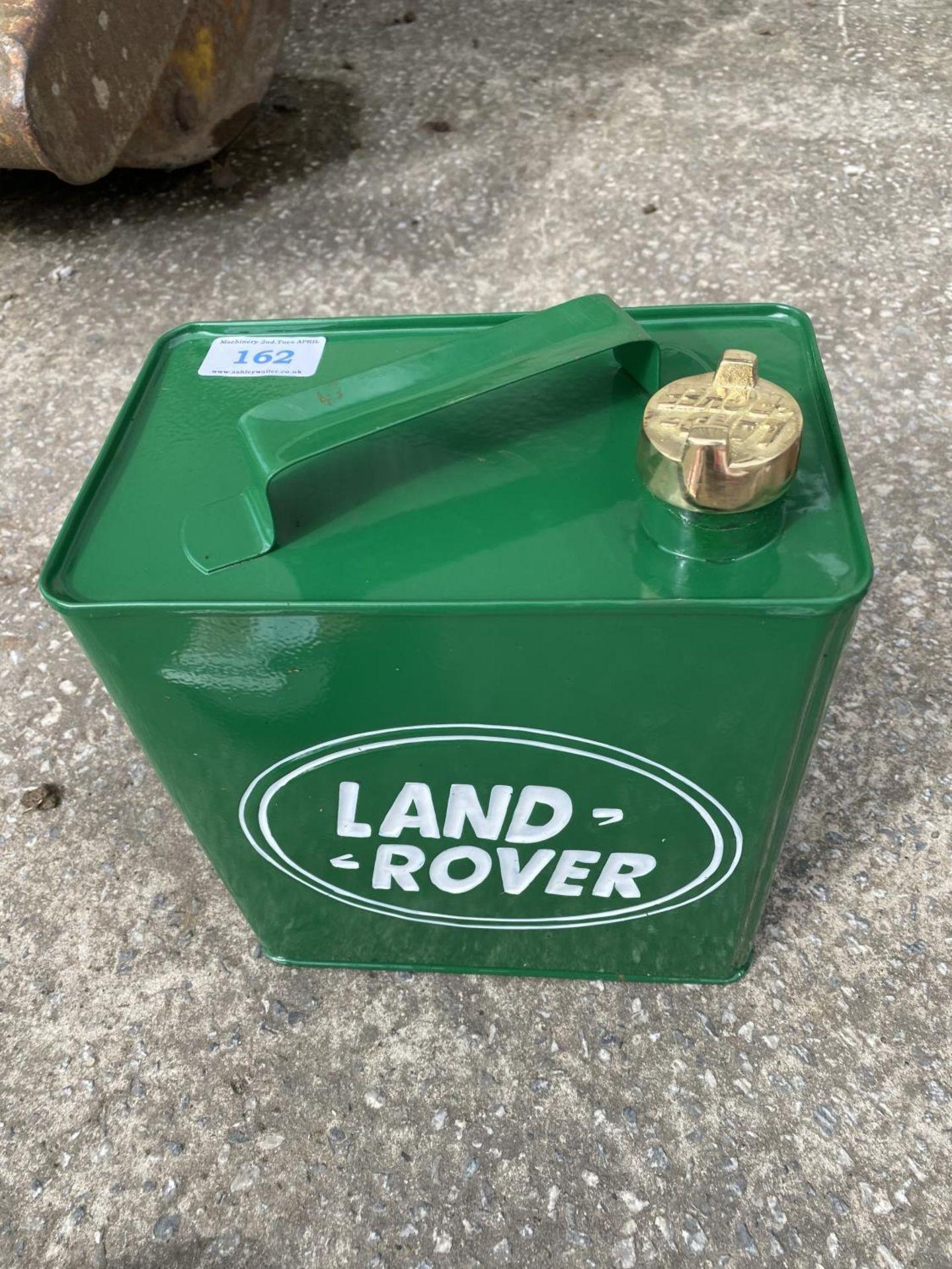 LAND ROVER PETROL CAN + VAT