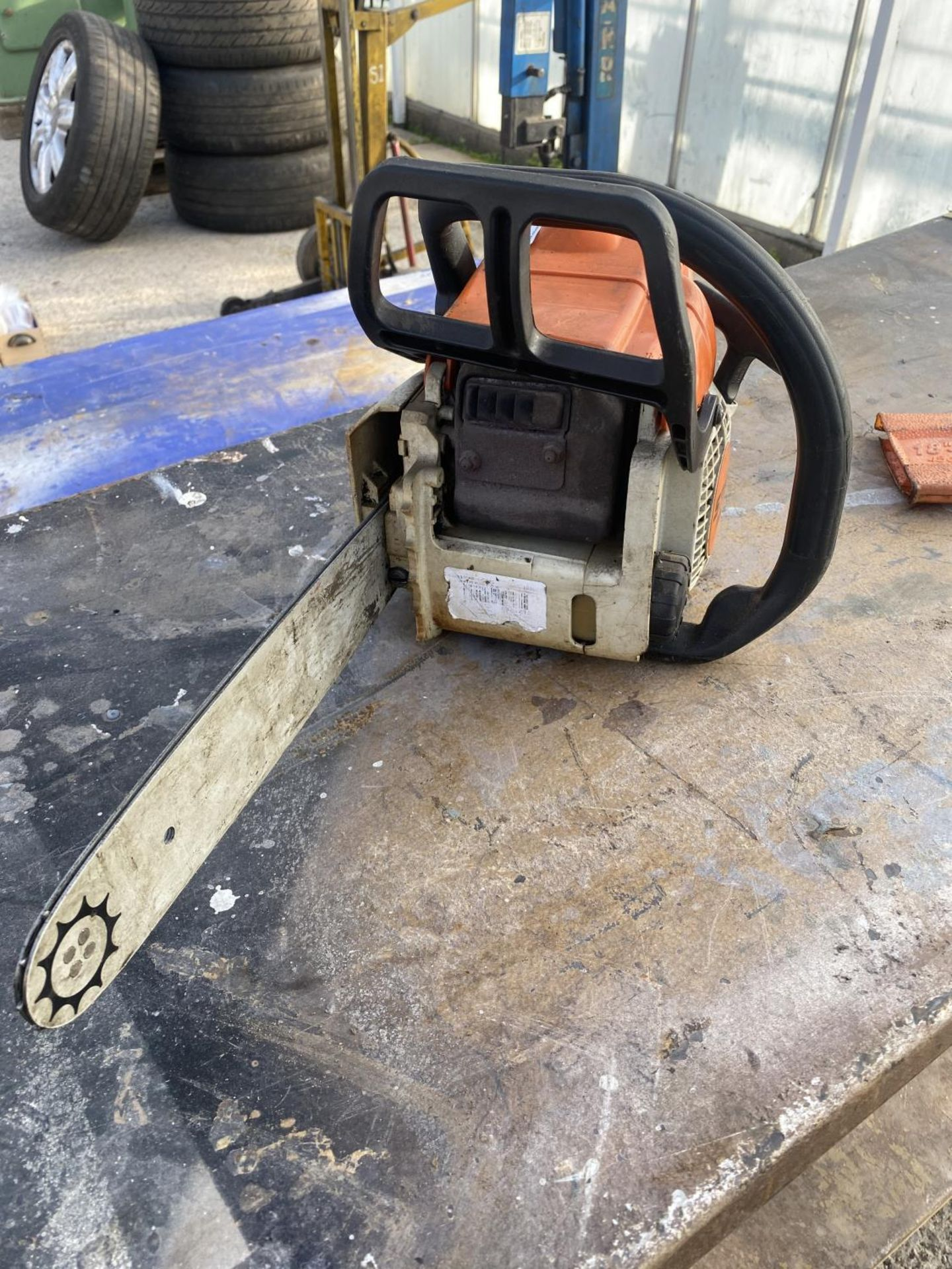 A STIHL MS170 CHAINSAW NO VAT - Image 6 of 6