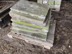A PALLET OF YORK STONE