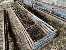 "SIX FEED BARRIERS 14; 9"" LONG"
