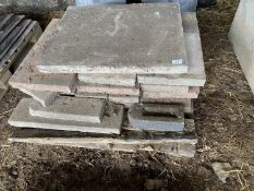 VARIOUS CONCRETE SLABS