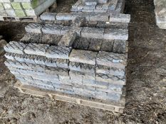 A PALLET OF STAFFORDSHIRE BLUE DIAMOND BRICKS APPROX 400 GRADE 1