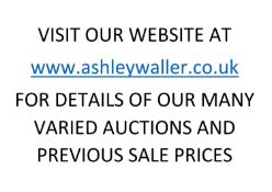 END OF SALE, THANK YOU FOR YOUR BIDDING. OUR NEXT SALE IS THE 28th and 29th APRIL