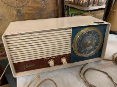 A VINTAGE MARCONI RADIO