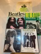 THREE BIOGRAPHIES RELATING TO 'THE BEATLES', THE BEATLES 'THE JOURNEY' DVD AND A 'LENNON LEGEND
