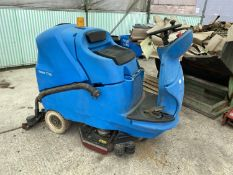 """GANSOW CT160 CLEANTIME EAGLE POWER 36""""RIDE O SCRUBBER C/W ULTRA DRY SQUEEGEE SYSTEM-ALL WORKING 36 V"""