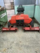 JACOBSEN TRI KING TRIPLE GANG REEL MOWER IN GOOD WORKING CONDITION NO VAT