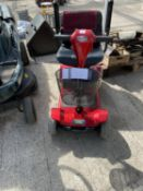A RASCAL TAXI 4 MOBILTIY SCOOTER IN WORKING ORDER