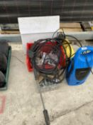 AN ASSORTMENT OF ITEMS TO INCLUDE TWO PRESSURE WASHERS ETC