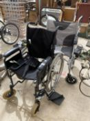 TWO WHEEL CHAIRS TO INCLUDE AN ABLEWORLD