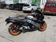 A 1989 HONDA CBR 1000F MOTORCYCLE REGISTRATION F165 MGY. BELIEVED GENUINE 48, 342 MILES AT TIME OF