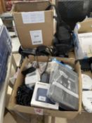 A LARGE QUANTITY OF TOMTOM SATNAVS AND CAMERAS