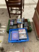 AN ASSORTMENT OF DVDS TO INCLUDE A NUMBER OF BOX SETS