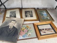 ASN ASSORTMENT OF FRAMED PRINTS AND PICTURES TO INCLUDE A TAPESTRY