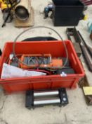A RHINO 13500 LB WINCH BELIEVED IN WORKING ORDER BUT NO WARRANTY