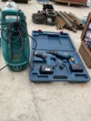 TWO BOSCH DRILLS AND A BOSCH ELECTRIC PRESSURE WASHER