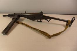 A REPLICA DENIX NON FIRING MARK II STEN GUN LENGTH 77CM