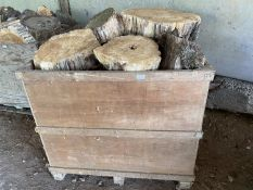 PALLET BOX OF TIMBER