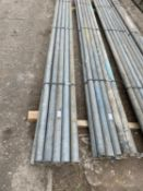 """10 SCAFFOLD PIPES 9' 10"""" LONG"""