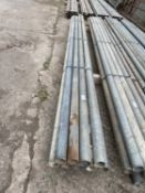 """SCAFFOLD PIPES 9' 4"""" LONG TO BE SOLD PER PIPE WITH THE OPTION ON THE NEXT 10 LOTS"""