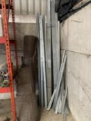20 PLUS LENGTHS OF ALUMINIUM CONDUIT