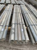 """SCAFFOLD PIPES 6' 4"""" LONG TO BE SOLD PER PIPE WITH THE OPTION ON THE FOLLOWING PIPES"""