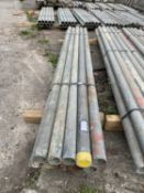 SCAFFOLD PIPES 6' LONG TO BE SOLD PER PIPE WITH THE OPTION ON THE FOLLOWING PIPES