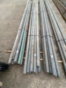 SCAFFOLD PIPES 13' LONG TO BE SOLD PER PIPE WITH THE OPTION ON THE NEXT 10 LOTS