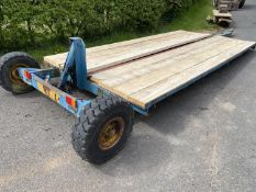 """LOW LOADING TRAILER 13'10"""" LONG (NEW TIMBER FLOOR)"""