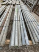 """SCAFFOLD PIPES 8' 6"""" LONG TO BE SOLD PER PIPE WITH THE OPTION ON THE NEXT 10 LOTS"""