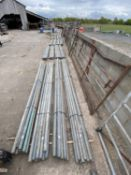 10 SCAFFOLD PIPES 13' LONG