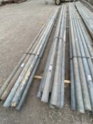 10 SCAFFOLD PIPES 16' LONG