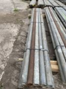 SCAFFOLD PIPES 7' LONG TO BE SOLD PER PIPE WITH THE OPTION ON THE NEXT 10 LOTS