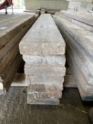 """SCAFFOLD PLANKS 6.75"""" x 2"""" LONGEST 11'3"""" - SHORTEST 6'2"""""""" TO BE SOLD PER PLANK WITH THE OPTION ON"""