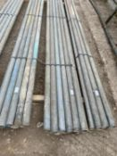 """10 SCAFFOLD PIPES 10' 6"""" LONG"""