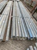 10 SCAFFOLD PIPES 10' LONG