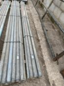 """SCAFFOLD PIPES 10' 10"""" LONG TO BE SOLD PER PIPE WITH THE OPTION ON THE NEXT 10 LOTS"""