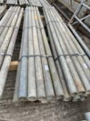 """SCAFFOLD PIPES 6' 6"""" LONG TO BE SOLD PER PIPE WITH THE OPTION"""