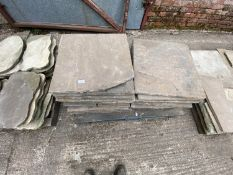 PALLET OF INDIAN STONE (APPROX 19 PCS.)