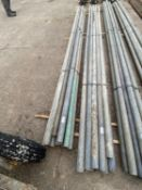 SCAFFOLD PIPES 11' LONG TO BE SOLD PER PIPE WITH THE OPTION ON THE NEXT 10 LOTS