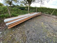 "24 X 4"" SOIL PIPES 19'8"" LONG + STILLAGE"