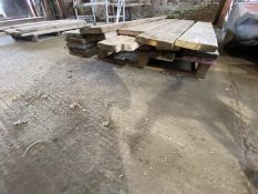 PALLET OF SCAFFOLD PLANKS APPROX 13