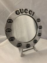 A GUCCI STYLE DRESSING TABLE MIRROR