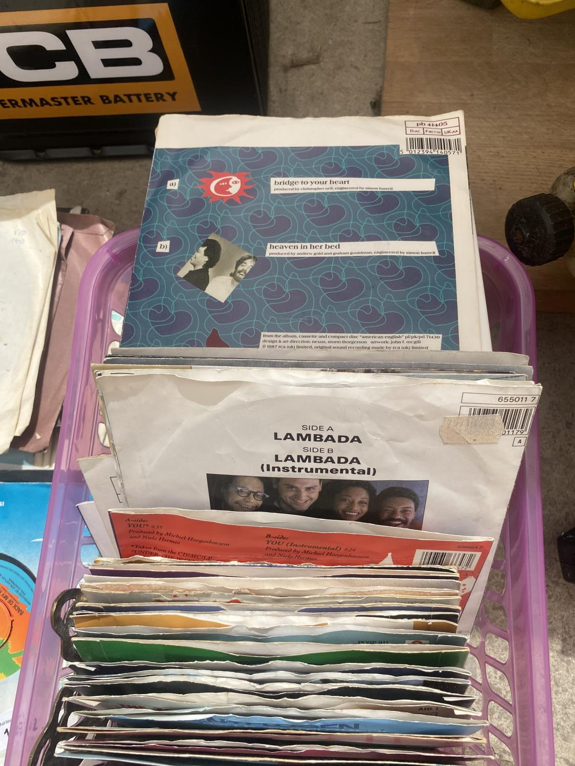AN ASSORTMENT OF VINTAGE LP RECORDS - Image 4 of 4