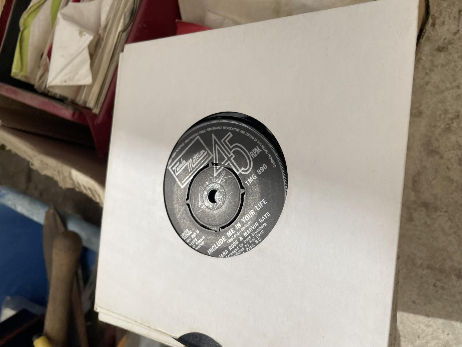 AN ASSORTMENT OF VINTAGE LP RECORDS - Image 5 of 10