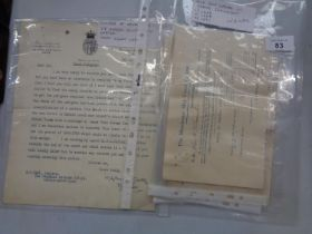 VARIOUS EPHEMERA TO INCLUDE 1888, 1889, AND 1890 MANCHESTER SHIP CANAL SHARE DOCUMENTS AND A HAND