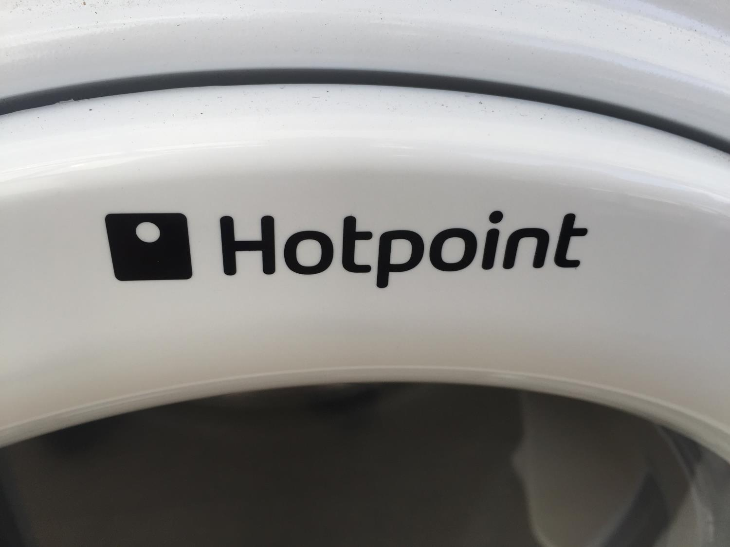 A WHITE HOTPOINT TUMBLE DRYER BELIEVED IN WORKING ORDER BUT NO WARRANTY - Image 2 of 3