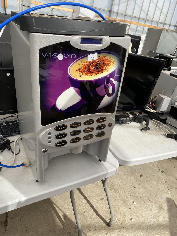 A VISION COFFEE MACHINE