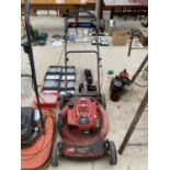 """A TORRO RECYCLER 22"""" LAWN MOWER WITH BRIGGS AND STRATTON PETROL LAWN MOWER"""